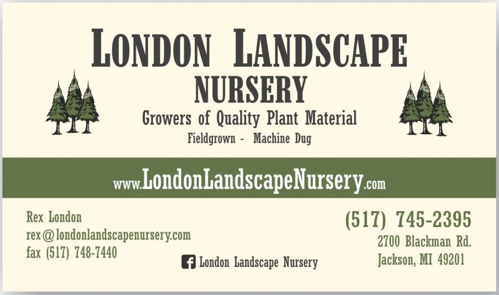 London Landscape Business Card