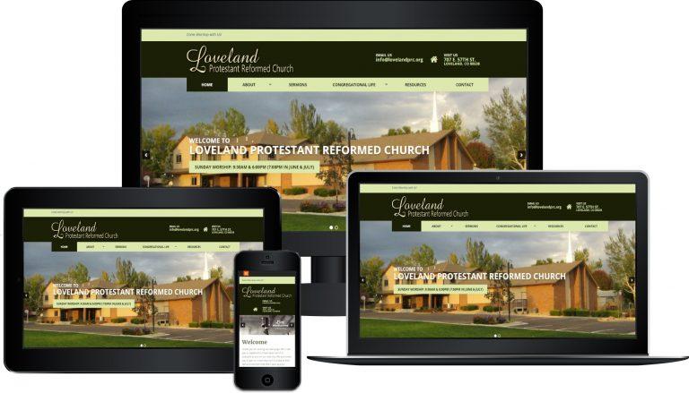 Loveland PRC Responsive Website