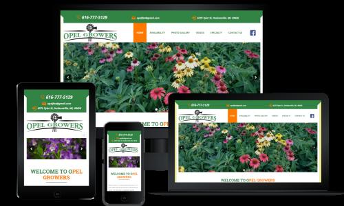 responsive design opel growers