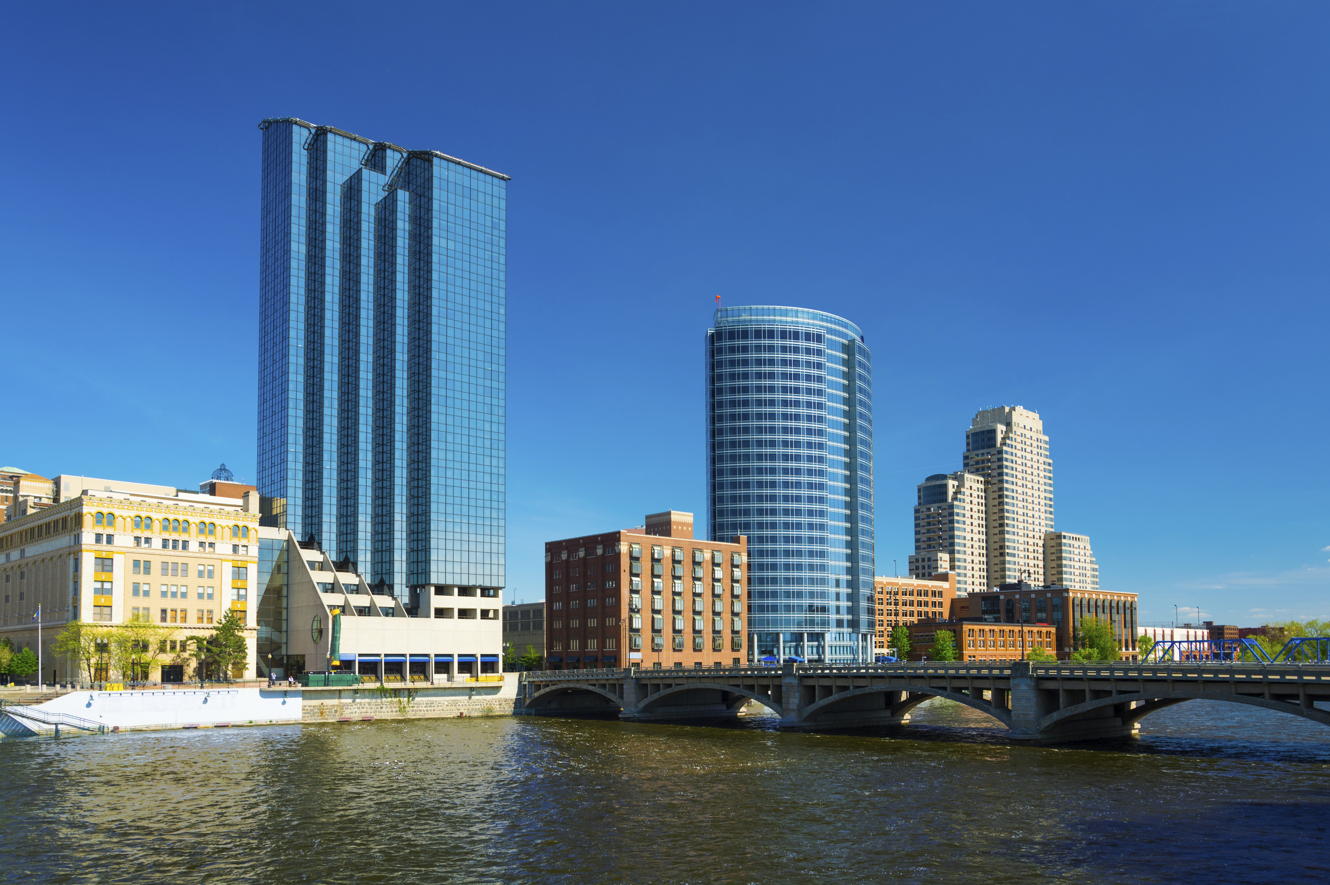 Grand Rapids downtown skyline