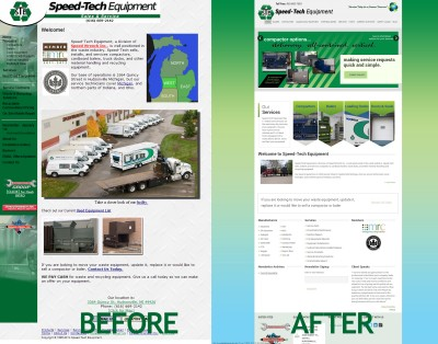 SpeedTech Equipment Website Re-design | Hudsonville, MI