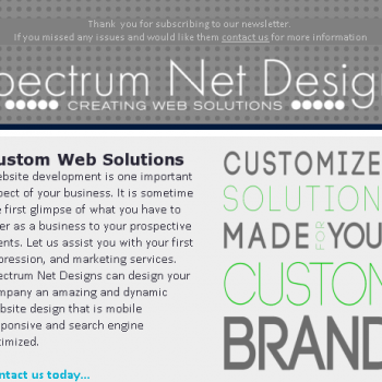 Custom Web Solution Made for Your Custom Brand