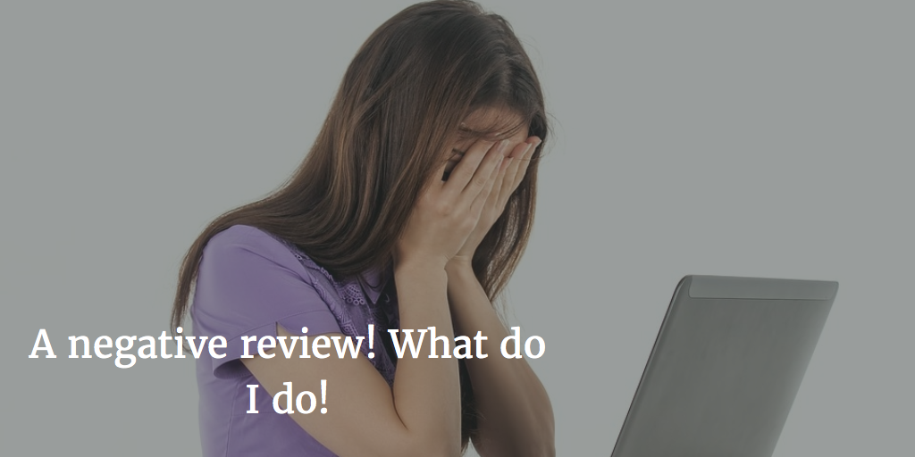 responding to negative reviews