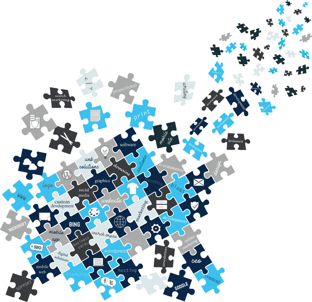 all services puzzle graphic
