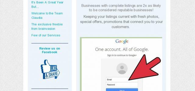Google account management