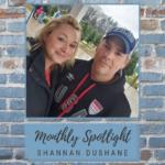 monthly employee shannan