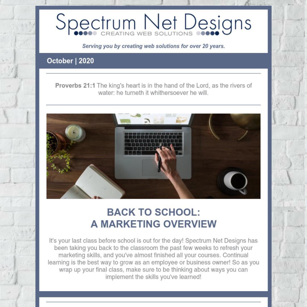 10.7.20 Spectrum Newsletter Image