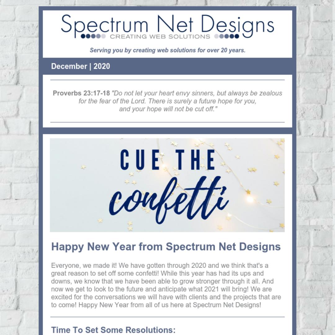 12.30.20 Spectrum Newsletter Image