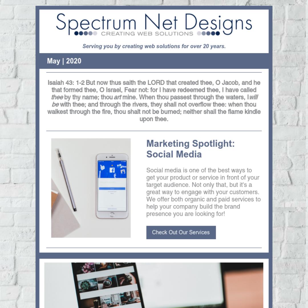 5.20.20 Spectrum Newsletter Image