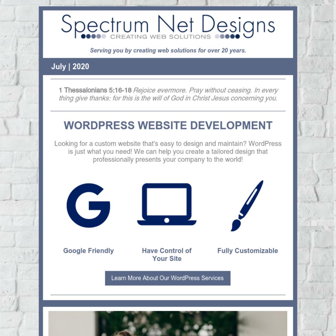 7.1.20 Spectrum Newsletter Image