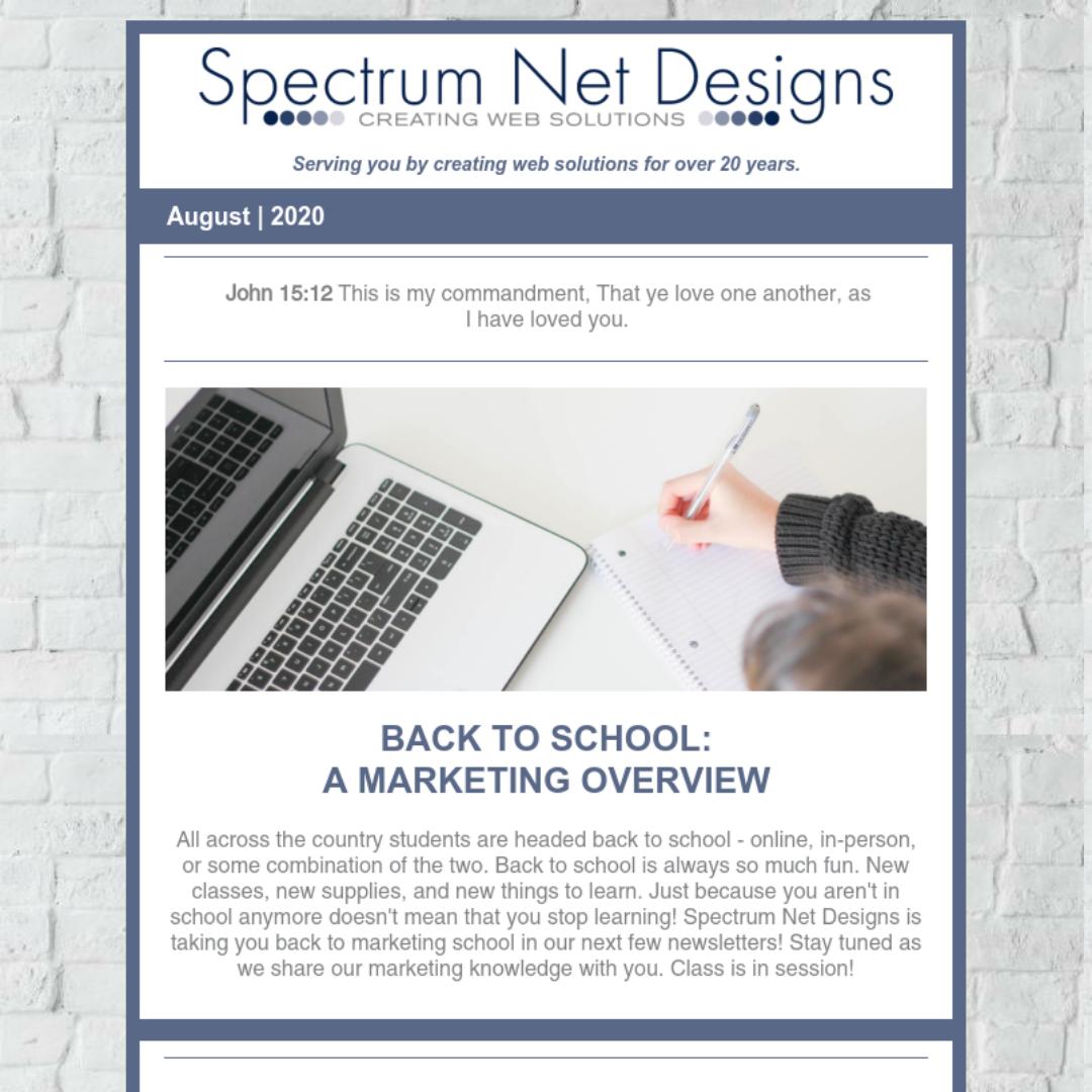8.26.20 Spectrum Newsletter Image