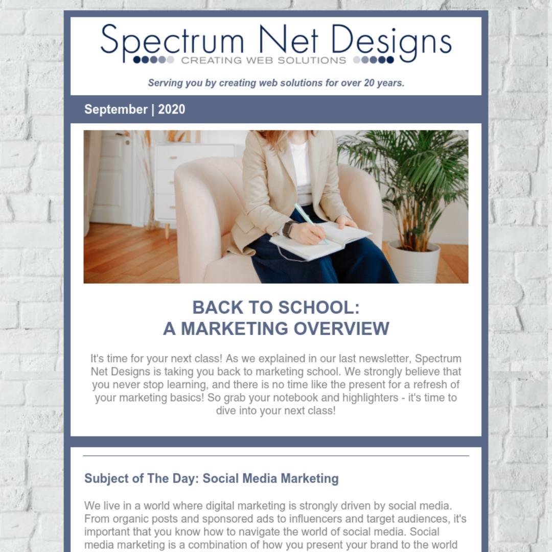 9.9.20 Spectrum Newsletter Image
